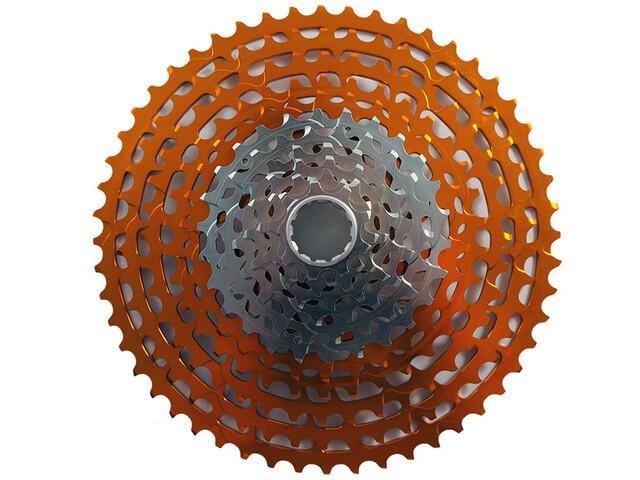 KCNC MTB Cassette for SRAM XD 12-speed, orange